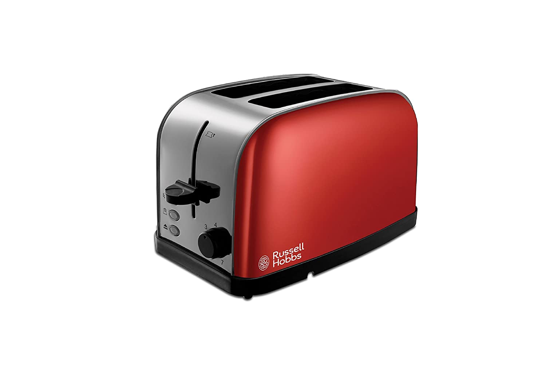 Russell Hobbs 18782 Dorchester 2-Slice Toaster, Black 4008496936427
