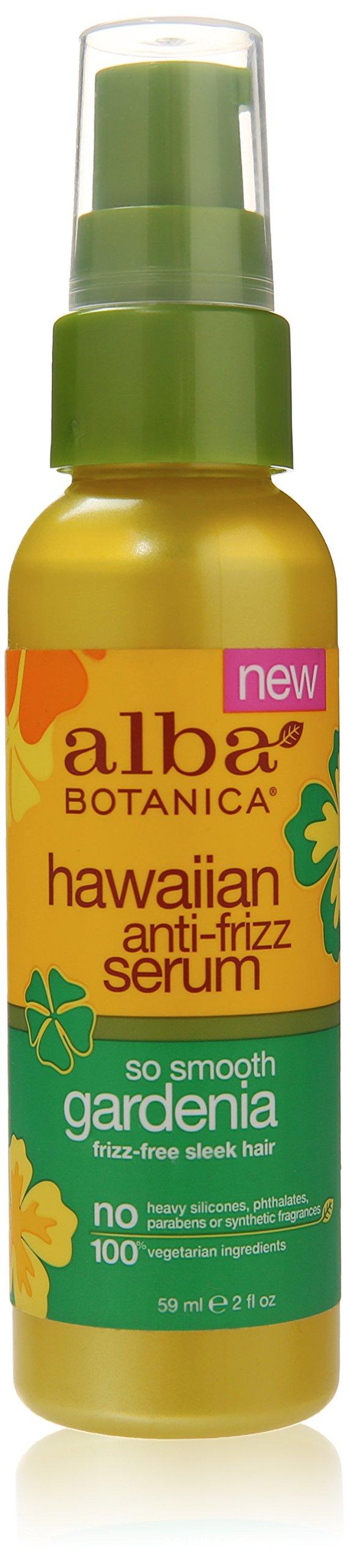 Alba Botanica Hawaiian Gardenia Anti-Frizz Serum, 2 Ounce