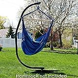 Sunnydaze Hammock Chair Stand Only - Metal