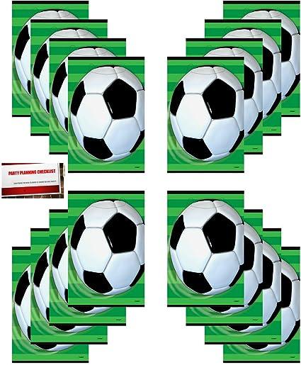15 Make A Football Player Sticker Sport Party Goody Loot Bag Filler Favor Supply