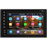 Pyle Car Stereo System Double DIN Android Headunit Receiver,, 6'' Touchscreen Display
