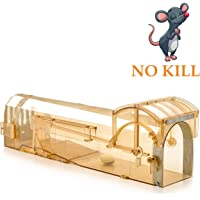 Humane Mouse Trap, 32 cm Enlarged Smart Mouse and Rodent Trap, No Kill The Mice, Pets & Children Friendly, Like a Real Mouse Home