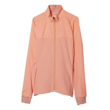 adidas Damen Sweatshirt SN Storm Jacket W, Sun Glow S16, XS, 4056561256642 6d99b4b7b0