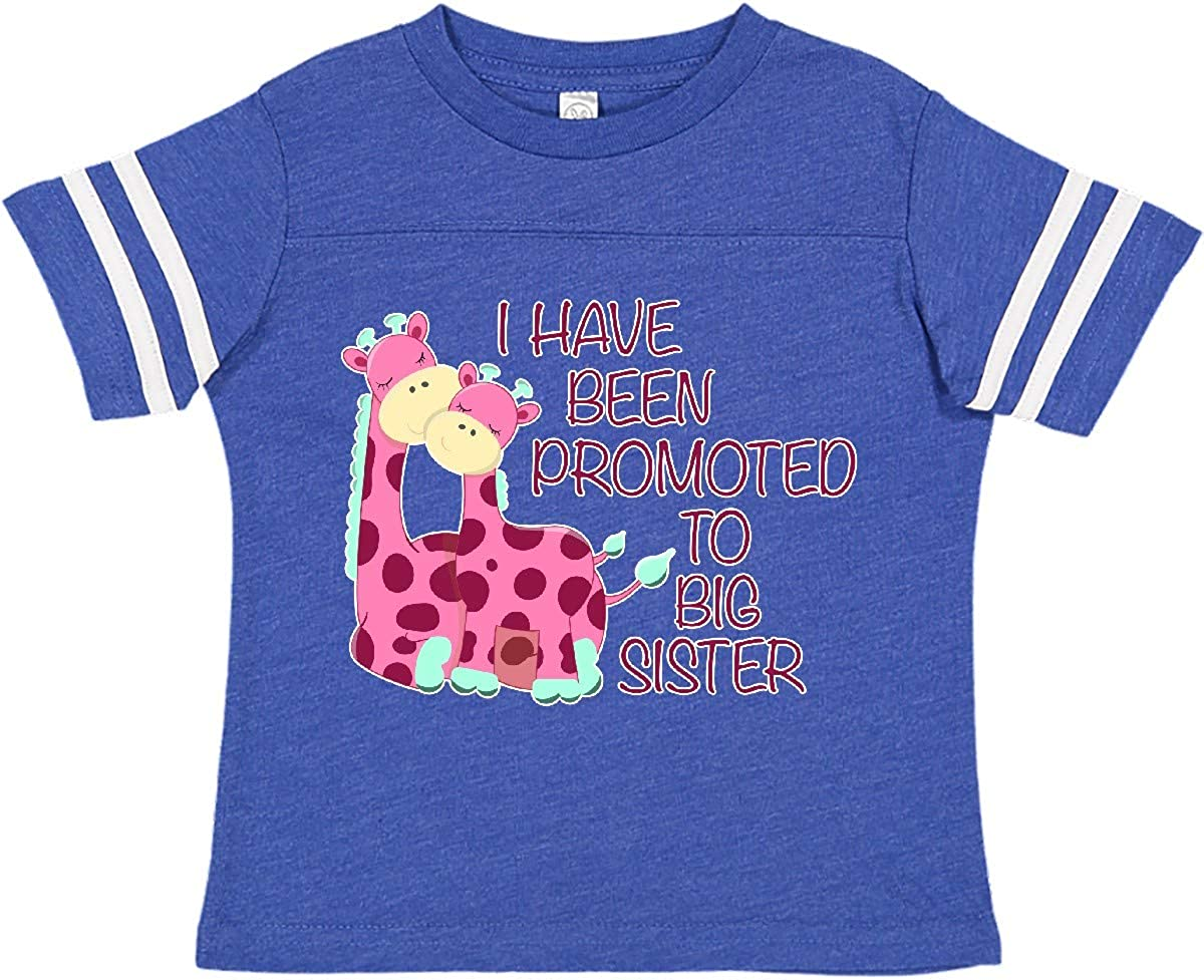 inktastic Easter Im Gonna Be a Big Sister with Purple and Pink Toddler T-Shirt