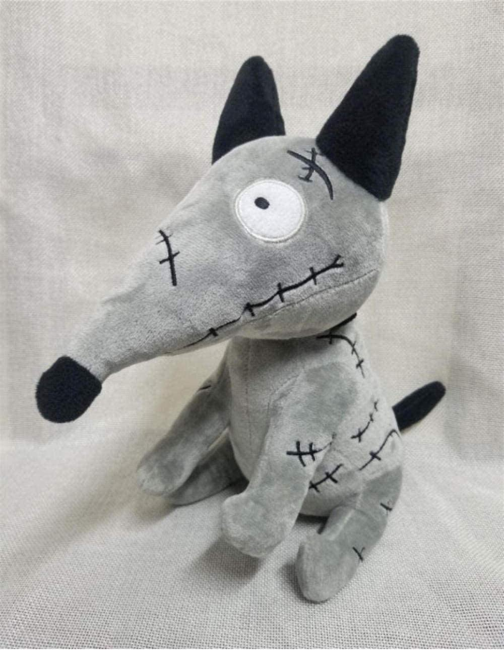 después de esto enero insulto  Amazon.com: N/D Rare Tim Burton Frankenweenie 10 Plush Sparky Dog Plush Toy:  Home & Kitchen