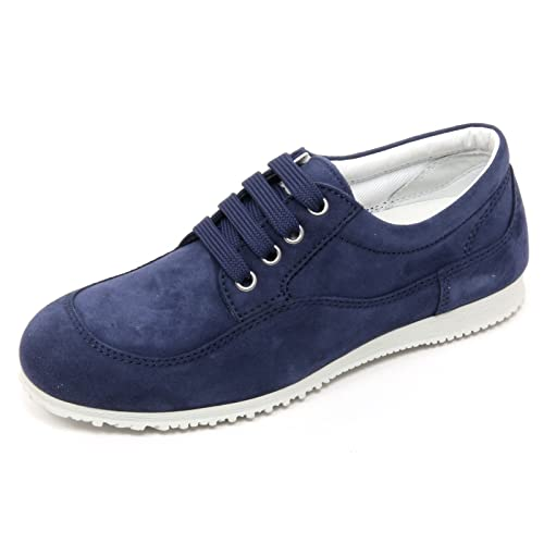 B7558 scarpa classica donna HOGAN H258 TRADITIONAL scarpe blu chiaro shoe woman