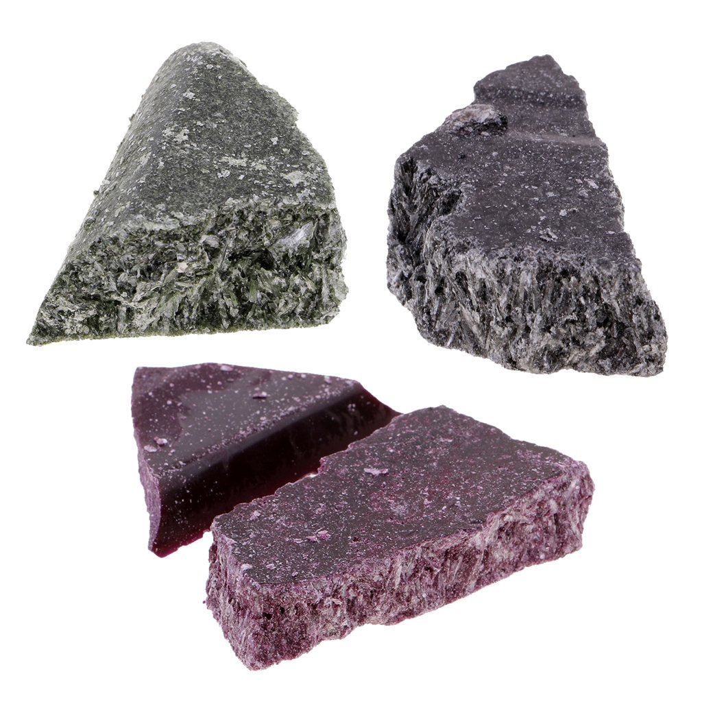 MonkeyJack 3 Pieces Natural Candle Coloring Chips Dye Wax Candle Pigment Black Purple Green