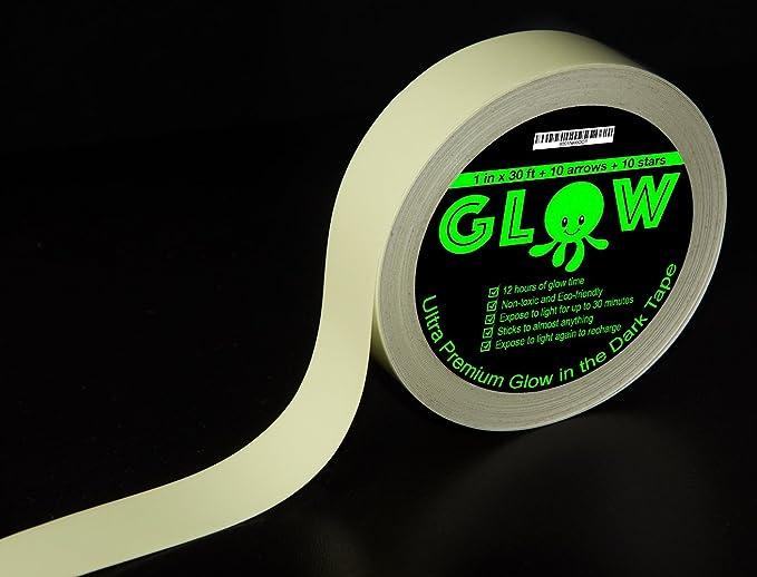 Amazon.com: La mejor cinta brillante en la oscuridad para ...