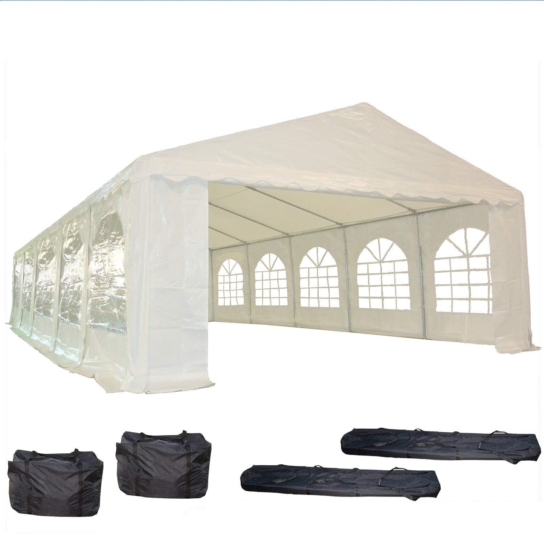 BenefitUSA R1-White 6 Ball Cord Tarp Tie Downs Bungee Canopy Gazebo Straps-50PCS Party Tent Straps