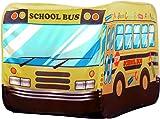 POCO DIVO School Bus Pop-up Play Tent Kids Pretend Vehicle  sc 1 st  Amazon.com & Amazon.com: Disney Cars Lightning McQueen Play Tent: Toys u0026 Games