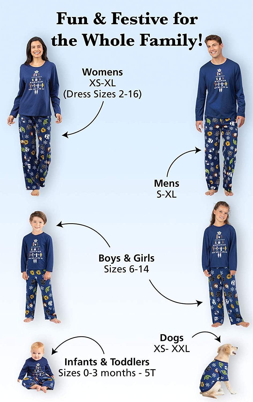PajamaGram Star Wars Family Pajamas - Fun Christmas Pajamas aa3de5b2fbca