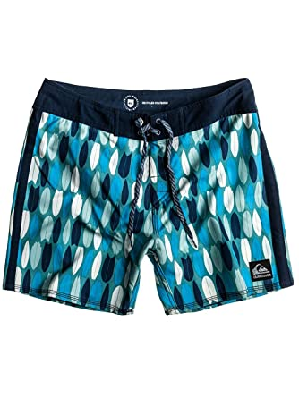"a31a4f7dc0 Quiksilver Ellipsis Boardshorts, Men's Swim Shorts, 50's Style Pattern, 14  - 16"""