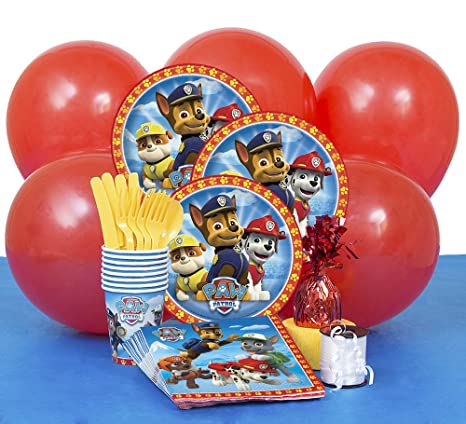 Image Unavailable Not Available For Color PAW Patrol Party Supplies