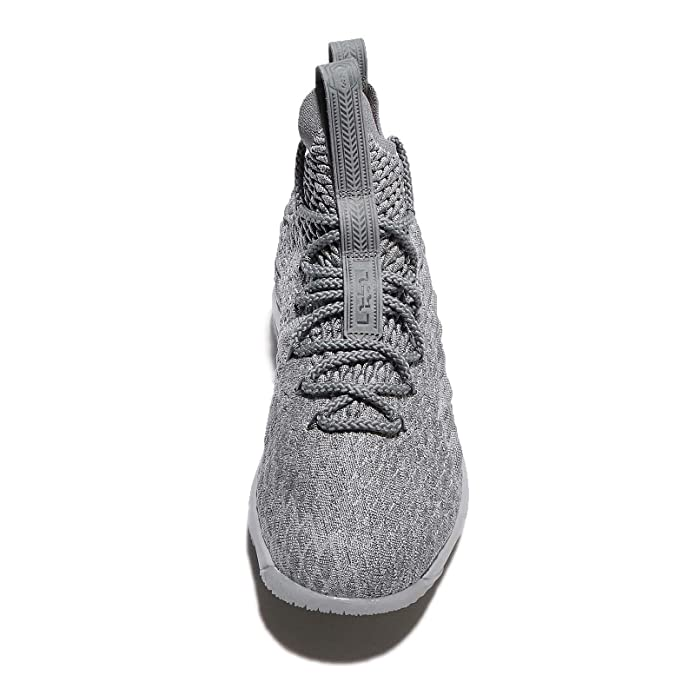 Amazon.com  Nike Youth Lebron 15 Boys Basketball Shoes Wolf Grey Cool  Grey Metallic Gold 922811-005 Size 6  Shoes 14e10b75f