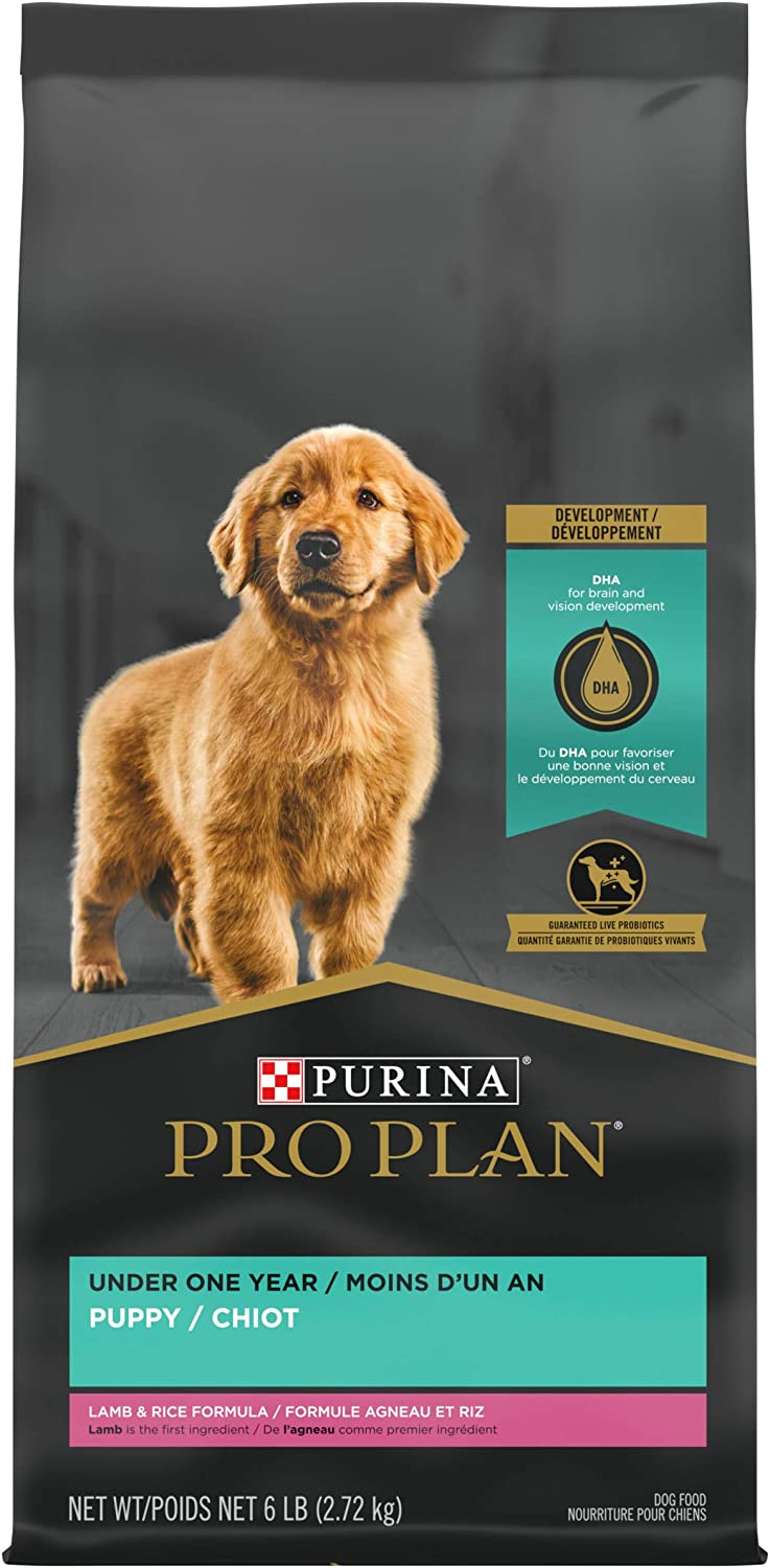 Purina Pro Plan Puppy Lamb & Rice Dry Dog Food (Packaging May Vary)