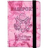 Passport Holder, Konikit Travel Passport Cover Slim Card Wallet Travel Document Organizer Multi-Purpose for Men Women