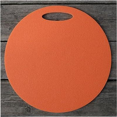 2 Coussins de mousse x elegant sitzunterlage 35 cm (orange)