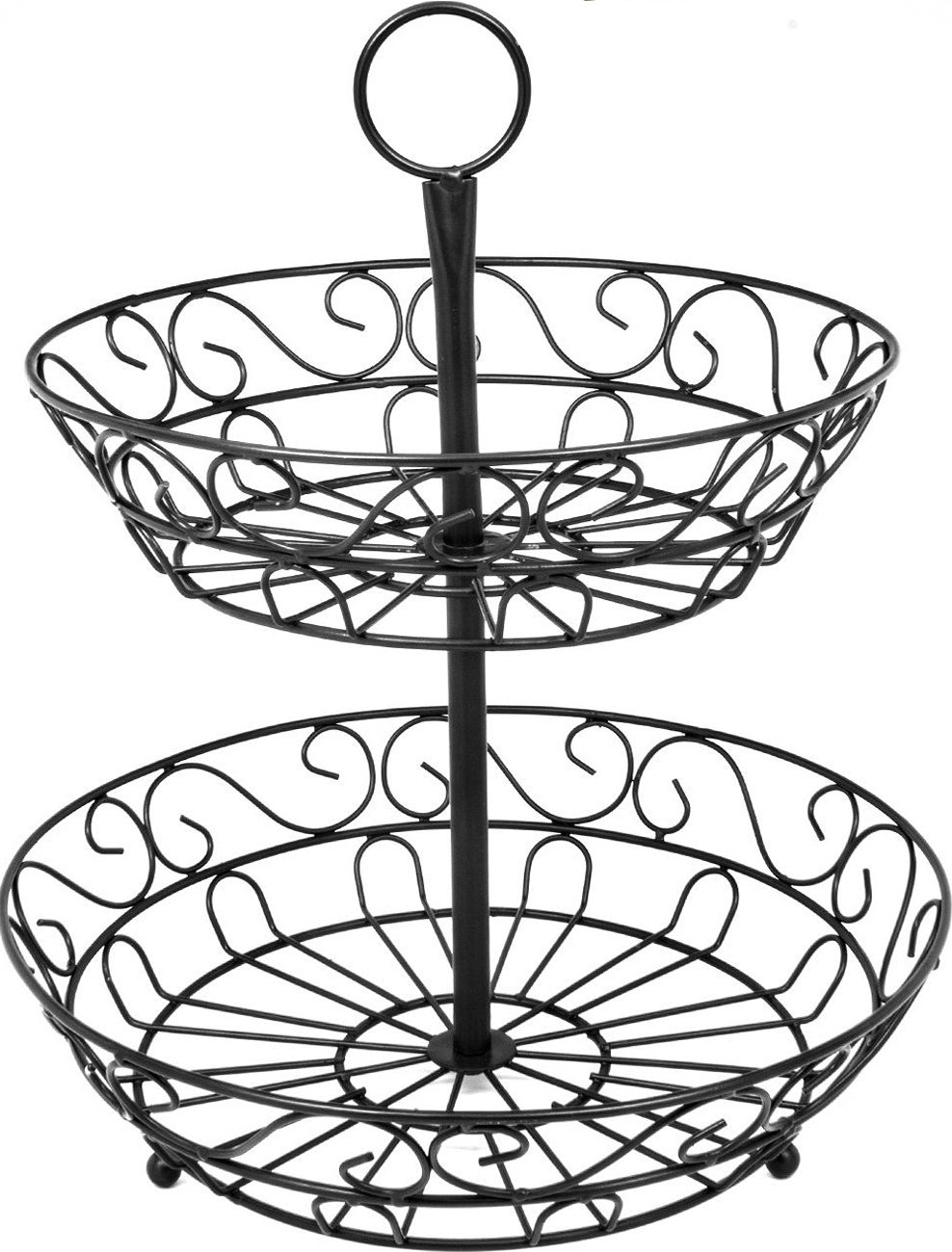 Lovely Amazon.com: Sorbus 2 Tier Countertop Fruit Basket Holder U0026 Decorative Bowl  Standu2014Perfect For Fruit, Vegetables, Snacks, Household Items, And Much More  ...