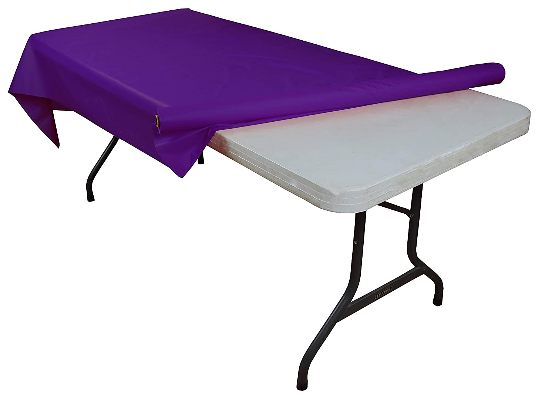 COMINHKPR62913 Black plastic table roll Crown Display Inc