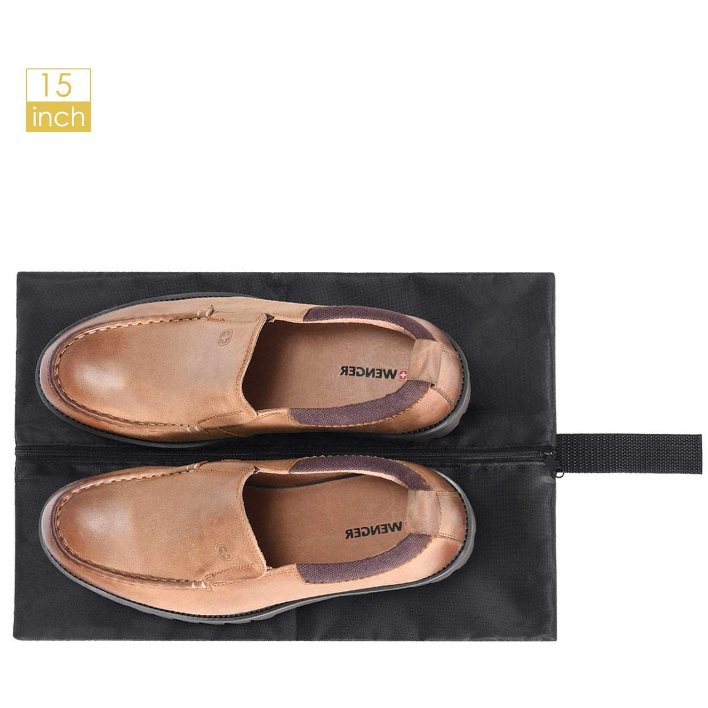 MaidMAX Lot de 3 Housses de Protection pour V/êtements//Costumes avec Fermetures /à glissi/ère Pleine Longueur fen/être en PVC Transparent et Un Sac de Chaussure 106 x 60 cm
