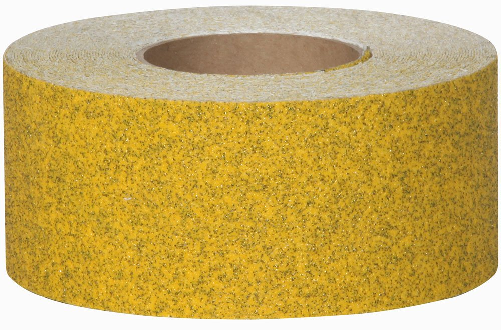 Jessup Safety Track 3358 Commercial Grade Non-Slip High Traction Safety Tape (46-Grit, Speckled Yellow, 3-Inch x 60-Foot Roll, Pack of 4)