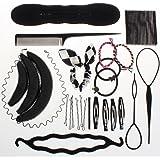 Ensemble d'accessoires coiffure Neverland beauté chignon bigoudis tresse élastiques épingles à cheveux outils de coiffure