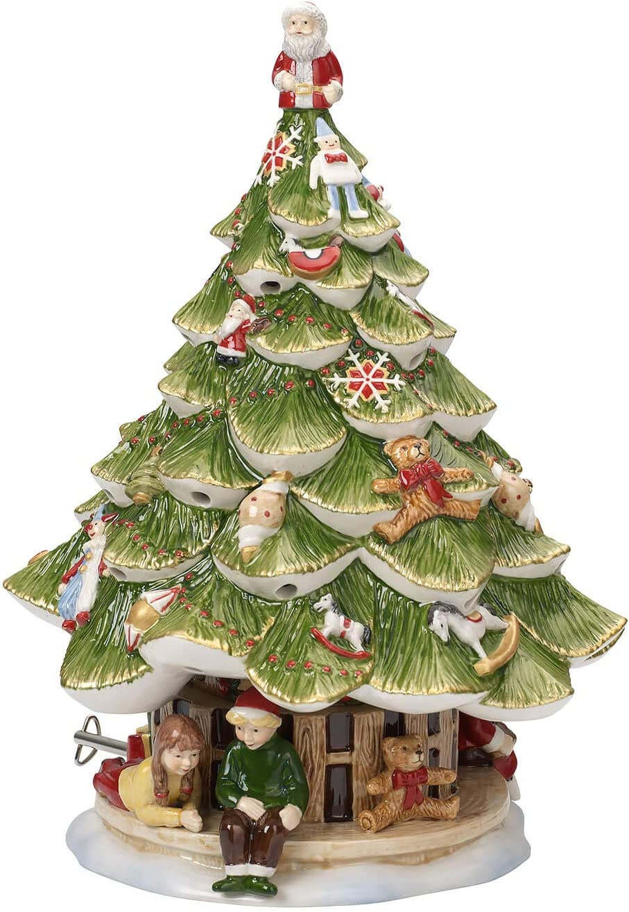 Villeroy /& Boch Christmas Toys Large X Mas Tree with Children