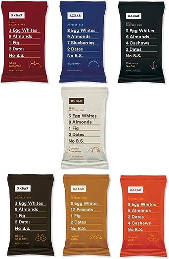 RXBAR Paquete de variedad de barras de proteína de comida ...