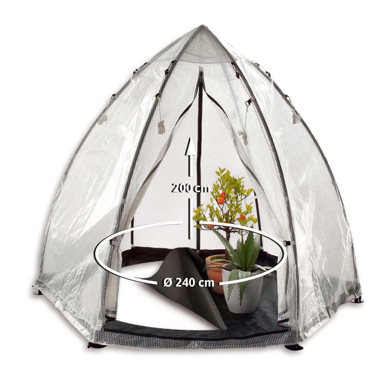 Bio Green Überwinterungszelt Pflanzen - Bio Green Winterschutz Tropical Island Zelt