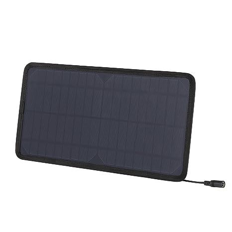 AUKEY Mini Panel Solar, 8 W Cargador Solar Batería Externa ...