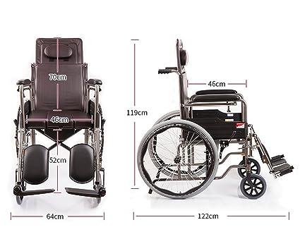 T-silla de ruedas Silla de ruedas, silla de ruedas para pacientes discapacitados,