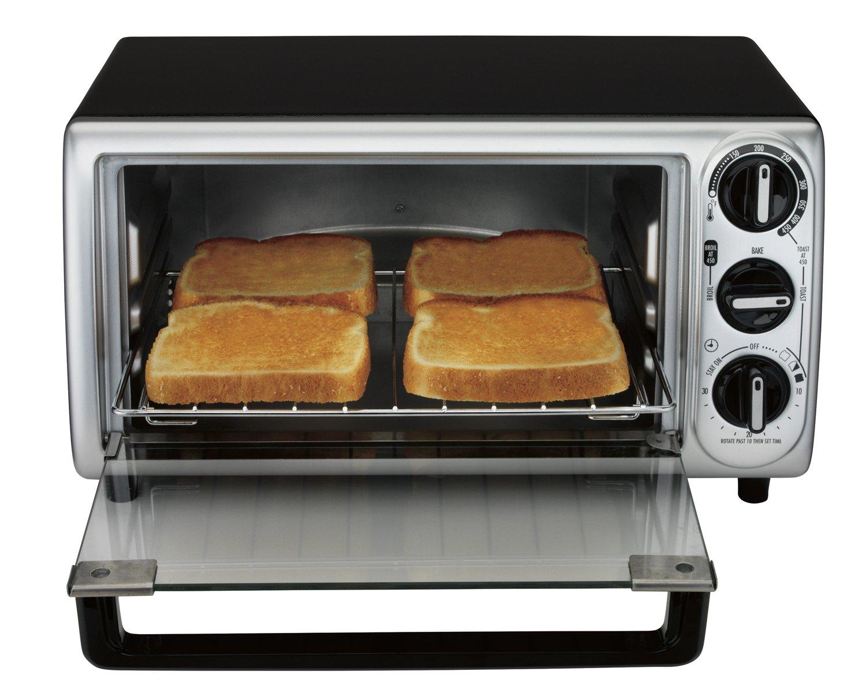 Amazon Proctor Silex Modern Toaster Oven Black