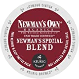 40-count K-cup Portion Packs for Keurig K-cup Brewers, Newman's Own Special Blend