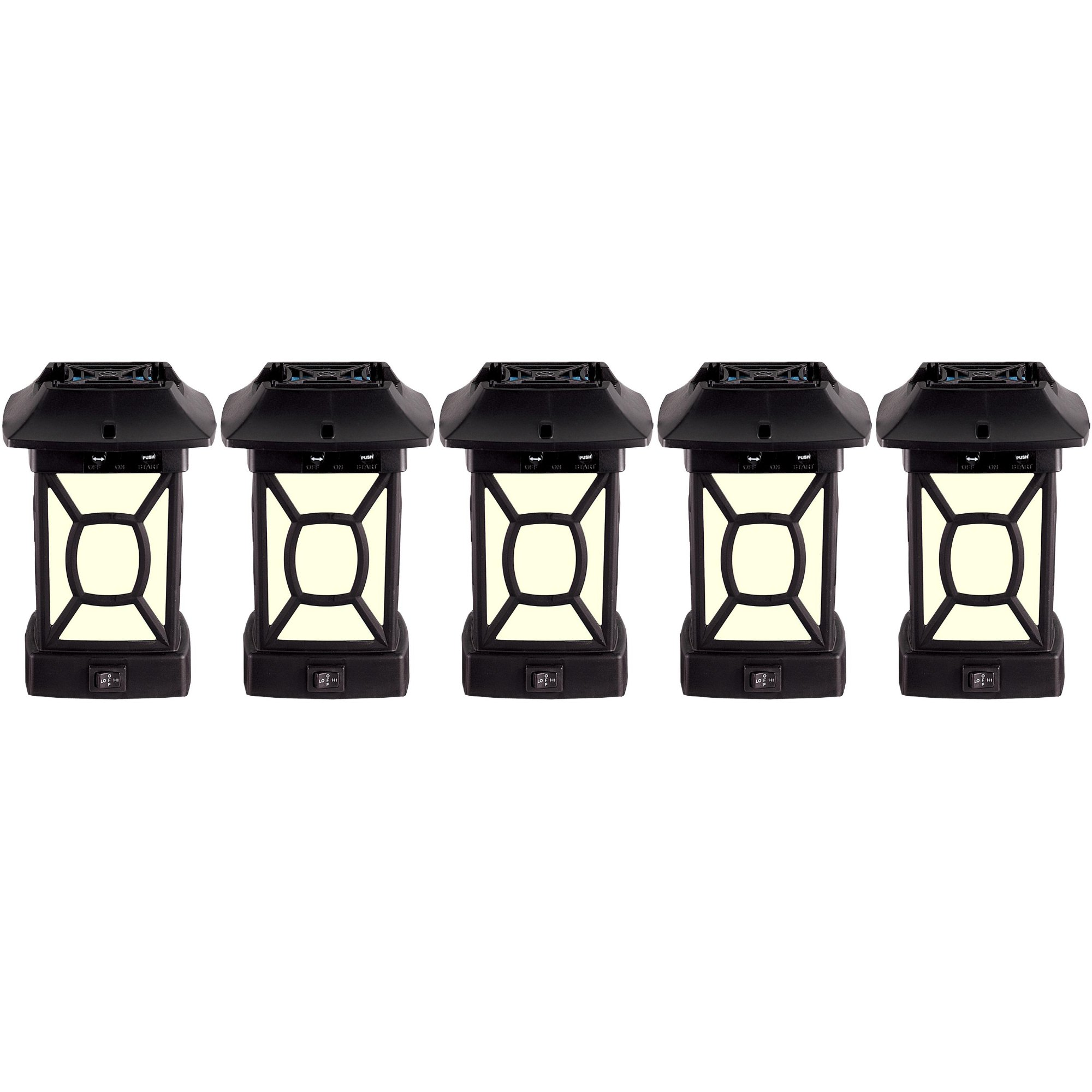 Thermacell Outdoor Mosquito Repeller plus Lantern, Cambridge Patio Shield, 5-Pack