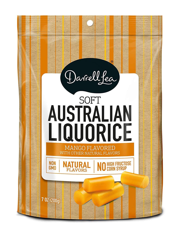 Darrell Lea Mango Soft Eating Liquorice, 7 oz Bags, 3 pk