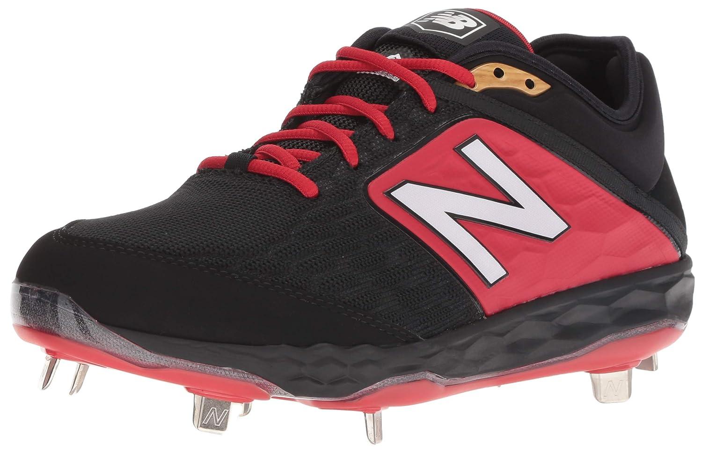 New Balance B075R74VKD 11 2E US|ブラック/レッド ブラック/レッド 11 2E US