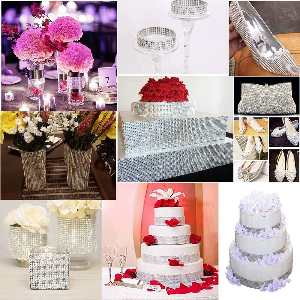 purple gold gem trim braid cake decoration dance wedding ribbon rhinestone