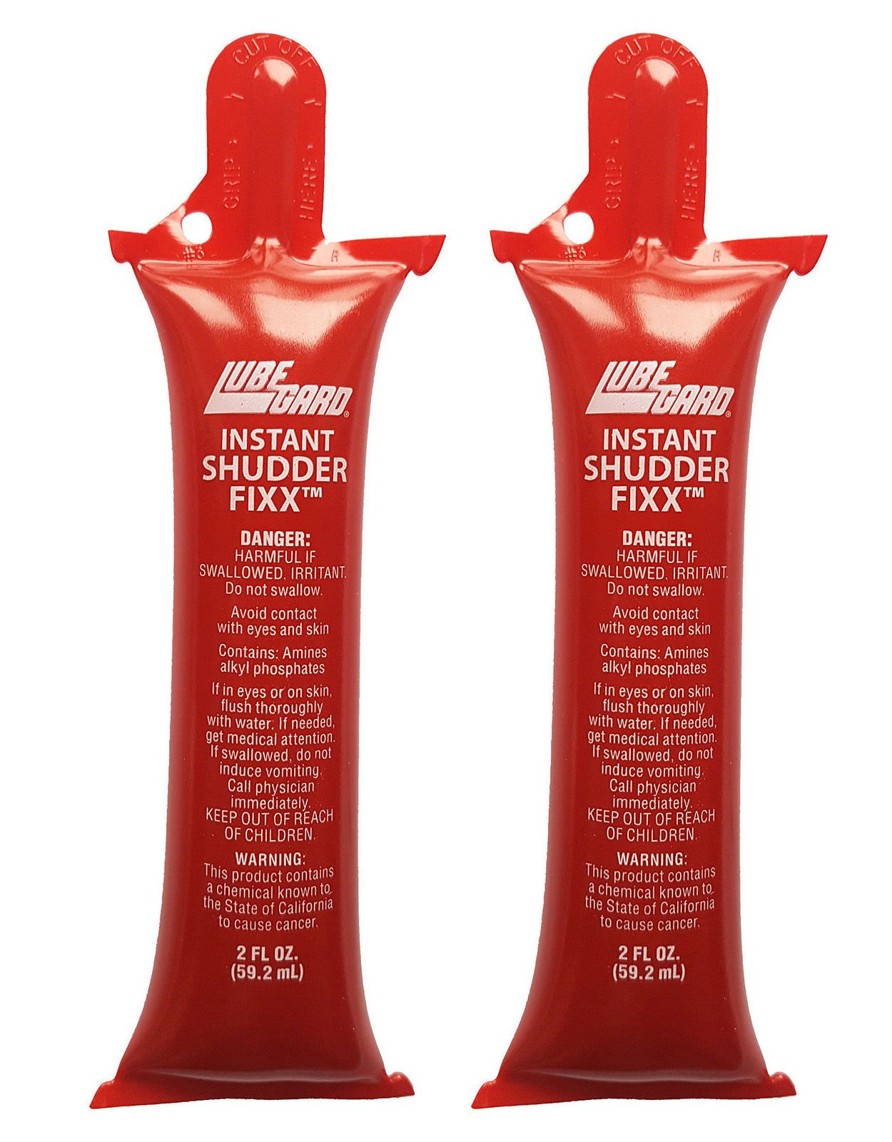 Lubegard 19610 Dr. Tranny Instant Shudder Fixx 2 Ounce 2 Pack