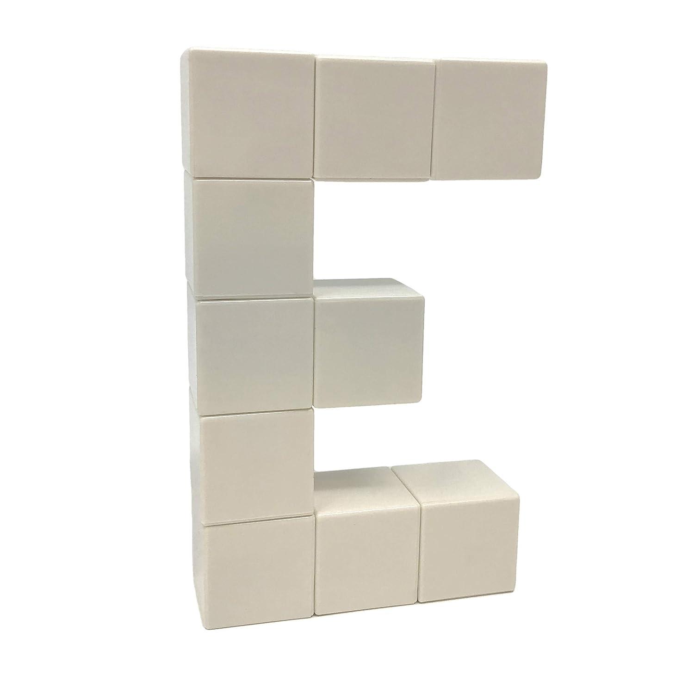 Unlimited Imagination Magnetic Building Blocks for Kids Autism Toys Magic Cube 40 Pieces Set Sensory Toys for Kids Innovative Design Black /& White Intock Magnetic Blocks 40 Pcs Magnetic Cubes