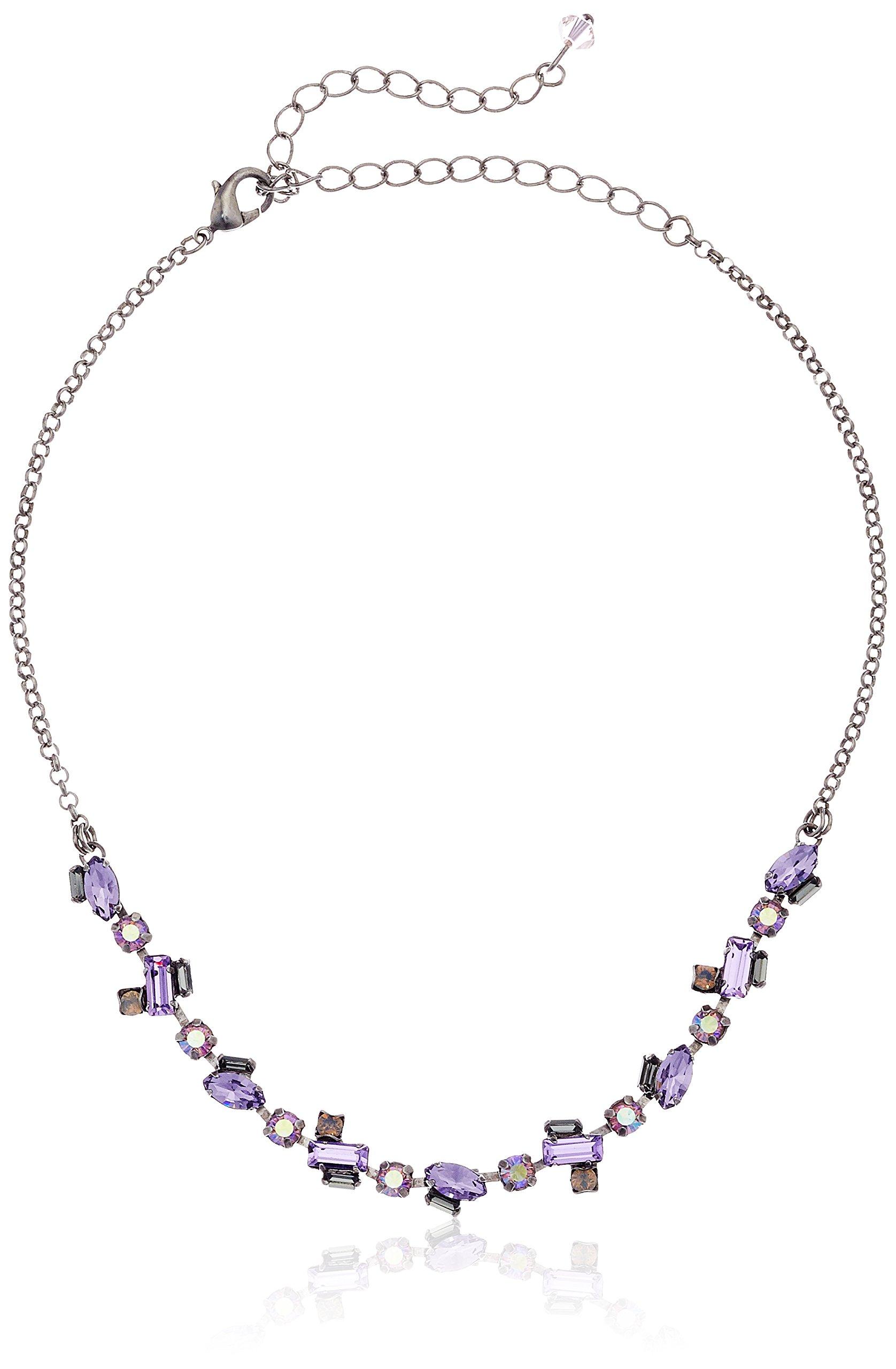 Sorrelli Purple Lotus Free Spirit Choker Necklace