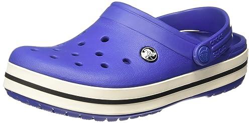 d68ab6b5e crocs Unisex s Crocband Blue Clogs-M4W6 (11016-4BE)  Buy Online at ...