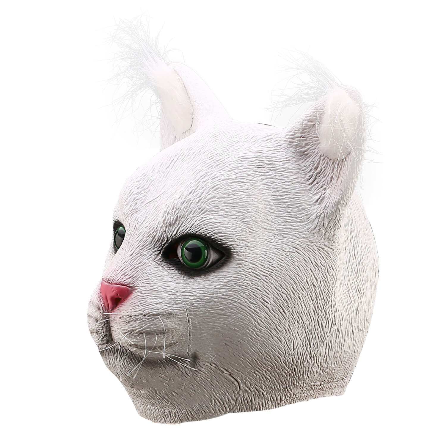 durable service Ylovetoys Latex Cat Mask Animal Head Mask for ...