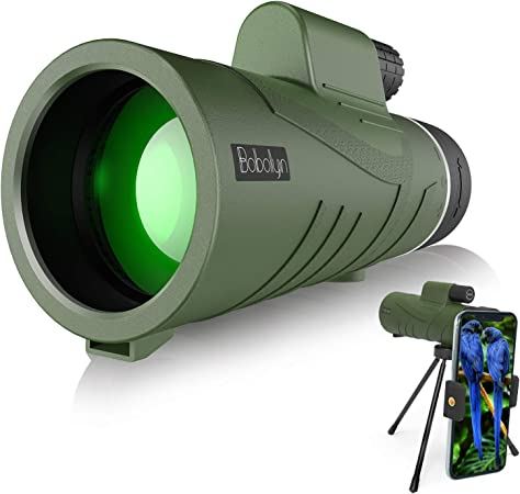 2020 Neueste 12 X 50 Hd Monokular Teleskop Mit Kamera