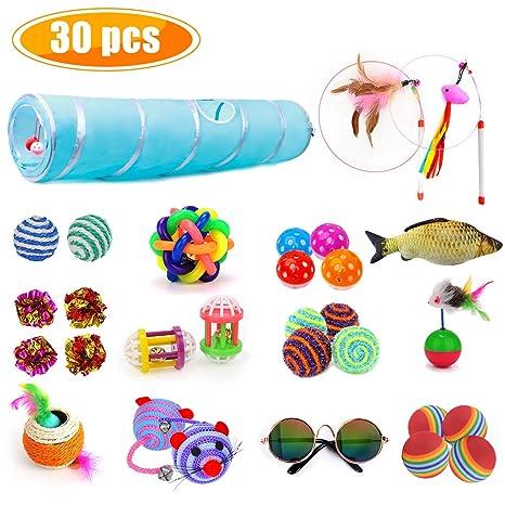 Amazon.com: Yagool 30 piezas de juguetes de plumas para ...