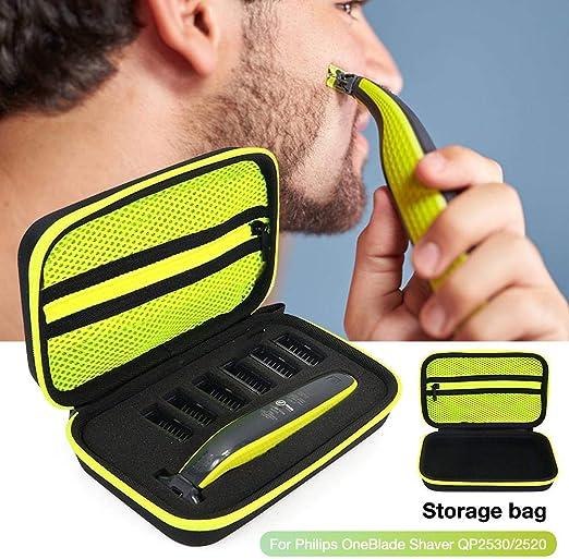 healingpie - Bolsa de Almacenamiento para afeitadora portátil, Organizador antigolpes para Bolsa de Almacenamiento de Viaje para afeitadora Philips OneBlade Benefit Big Sale: Amazon.es: Hogar