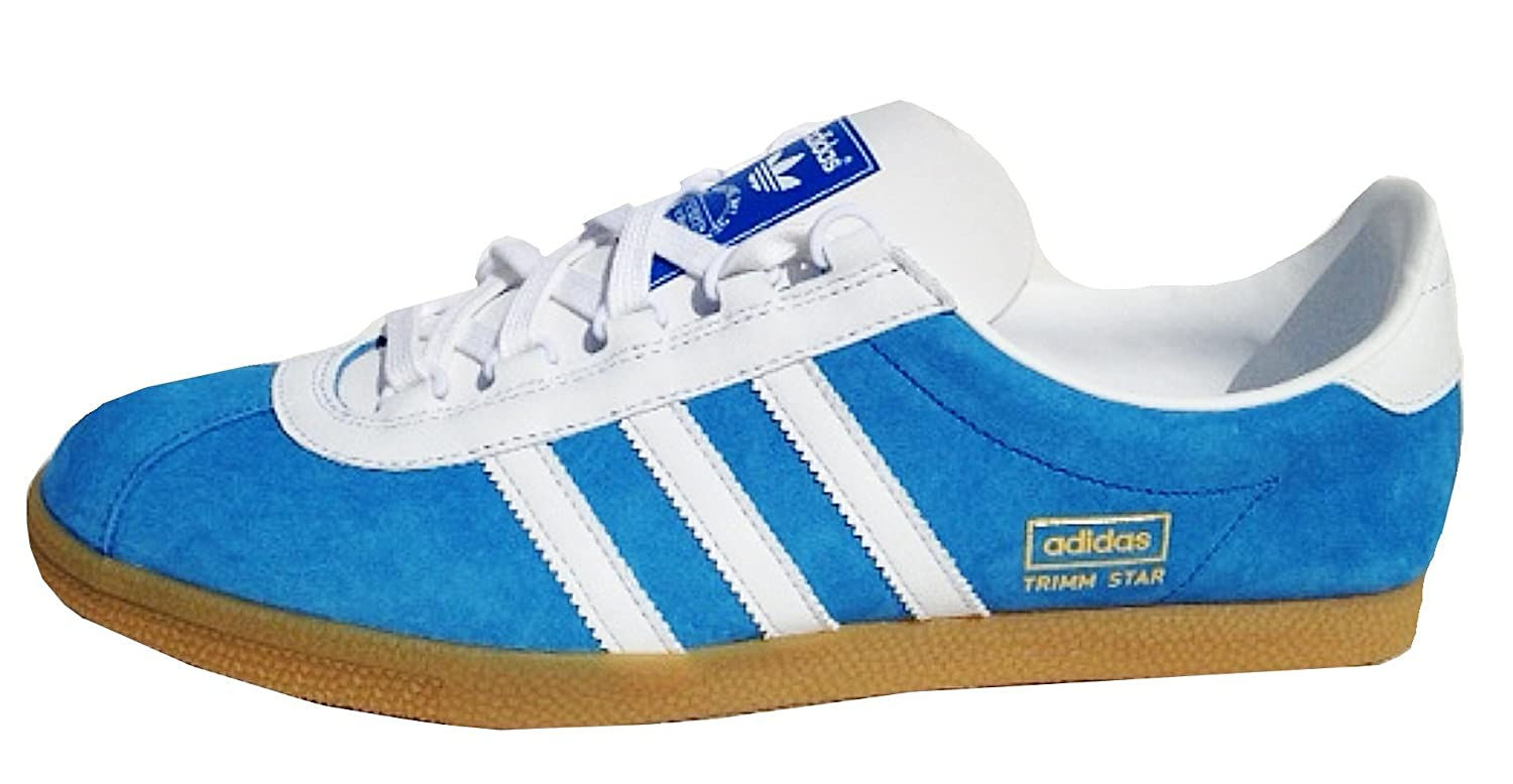 Originals Deadstock Mens G96503 Gum Trimm Adidas Shoes Trainers Bags amp; White 6uk Rare run uk Blue Star Amazon co fdceebc|Chad Finn's Touching All Of The Bases
