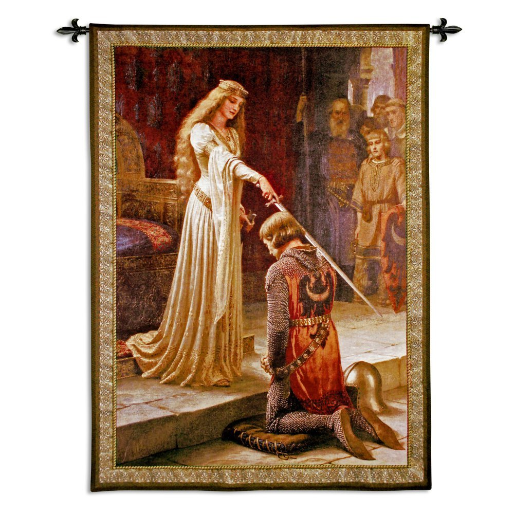 Fine Art Tapestries ''The Accolade'' Wall Tapestry