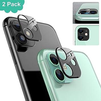 Ossky Protector de Lente de cámara para iPhone 11,Cámara Trasera Lente Protector Anti-Rasguños/Anti-Polvo[Compatible para Funda] Protector Cámara Trasera Case para iPhone 11-Negro/2 Pack: Amazon.es: Electrónica