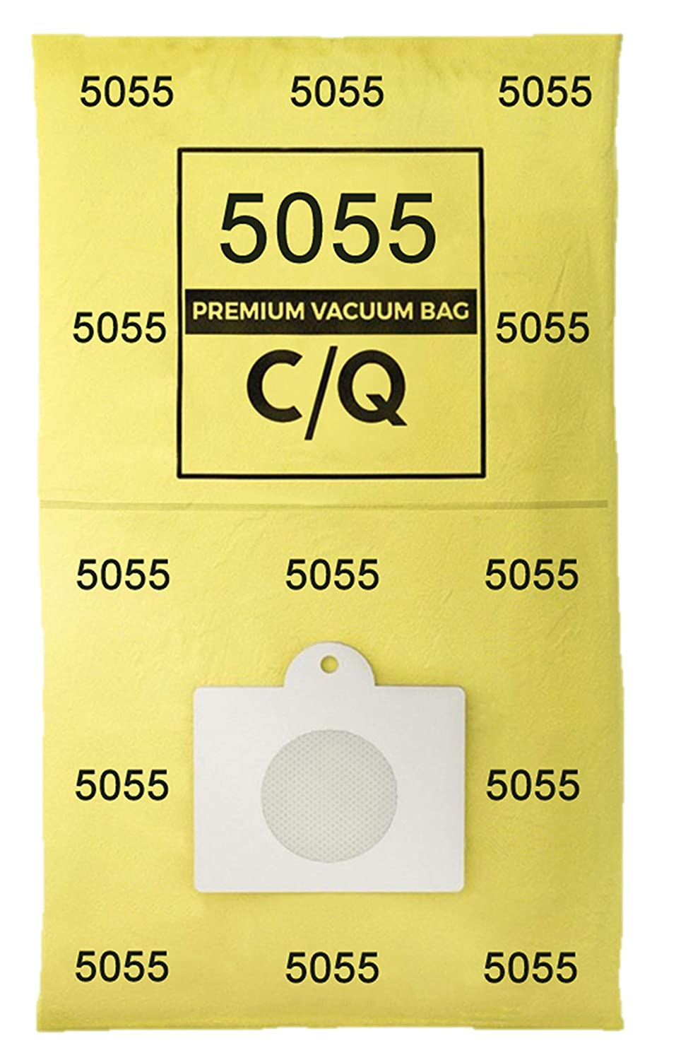 Casa Vacuums 12 Pk. for Kenmore Style C and Style Q 5055 50557 50558 Micro Lined Canister Vacuum Bags. Also Fits Panasonic C 5, C 18