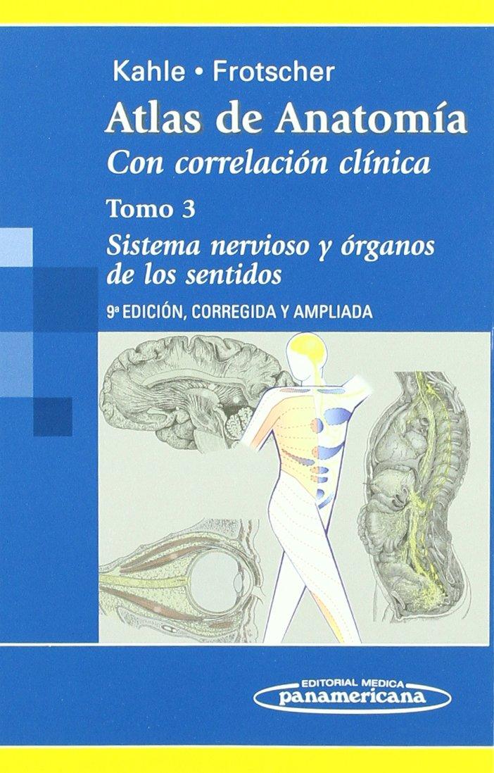 Atlas de Anatomía.Con Correlación Clínica: Sistema Nervioso y ...